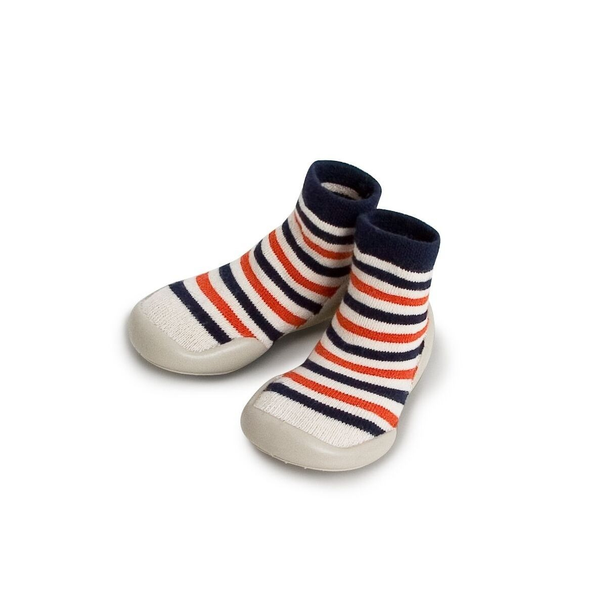 Slipper Socks Marine Stripes colorful stripes
