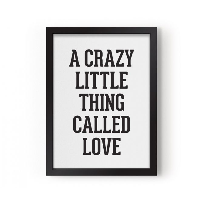 Plakat A Crazy Little Thing Called Love