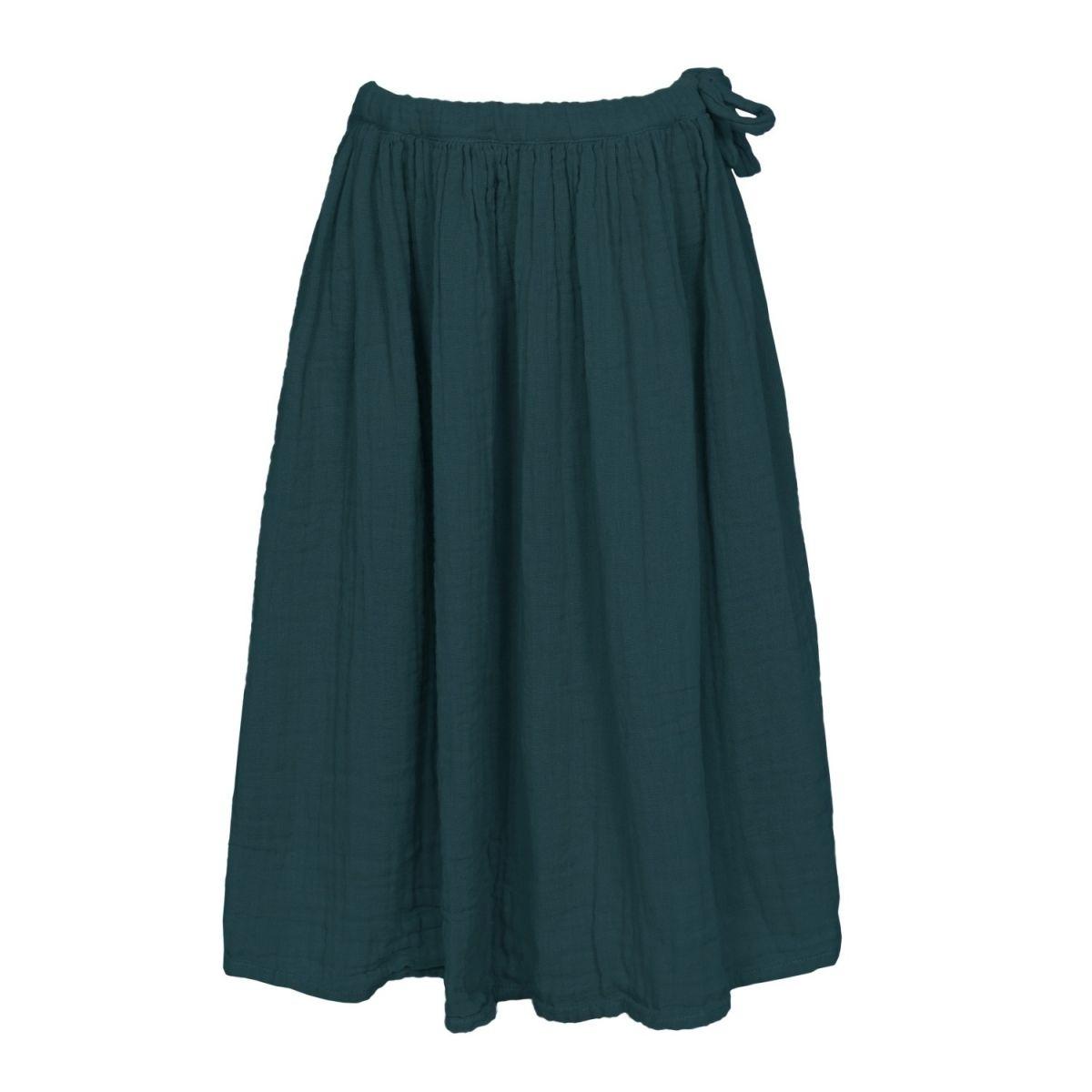 Spódnica dla dziewczynek Ava długa ciemna morska