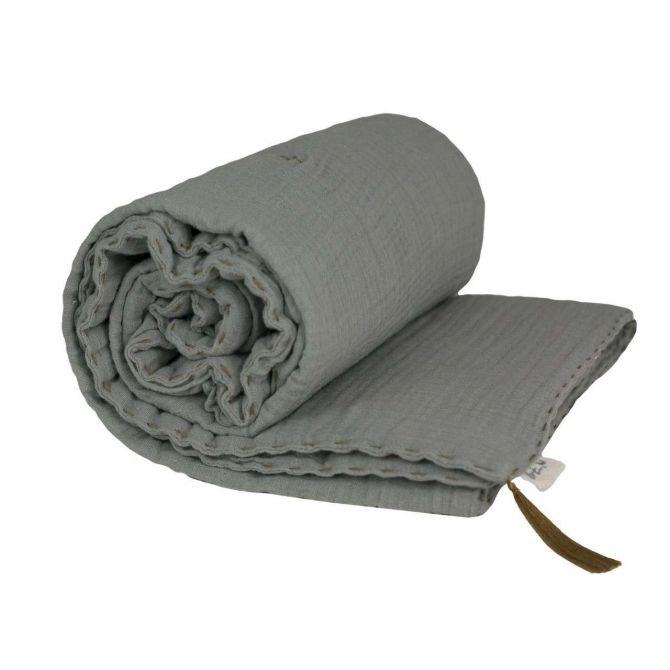 Kocyk Winter Blanket silver grey szary