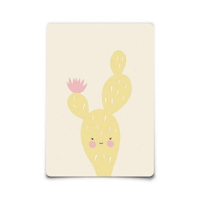 Kartka Postcard Cactus Citrine kaktus cytrynowy
