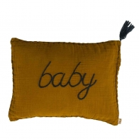 Cushion cover Message flashy gold