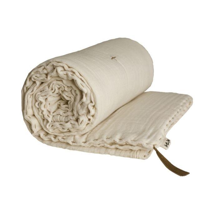 Koc Winter Blanket natural naturalny