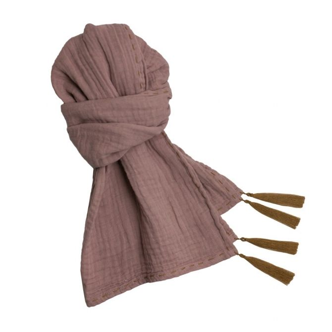 Scarf for mum dusty pink