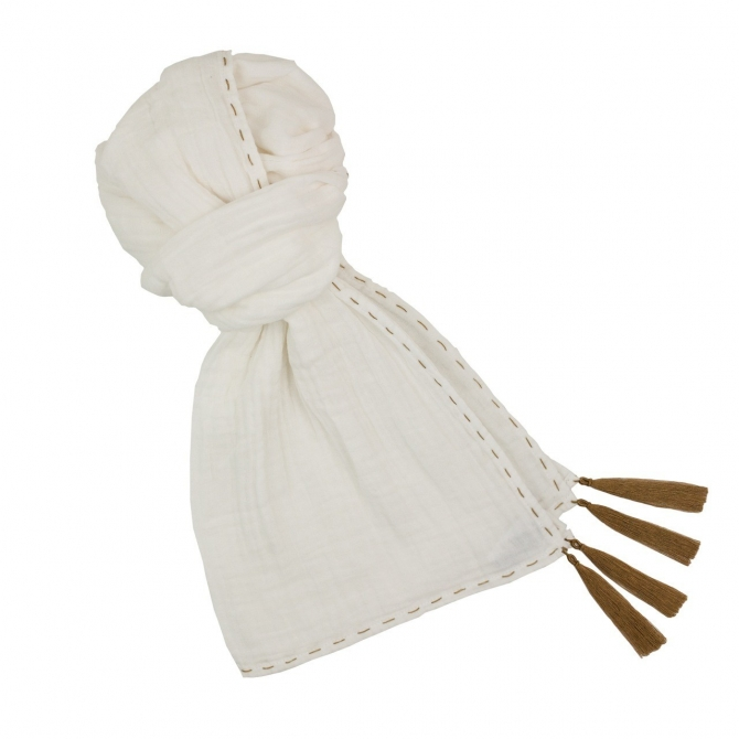 Scarf for mum white
