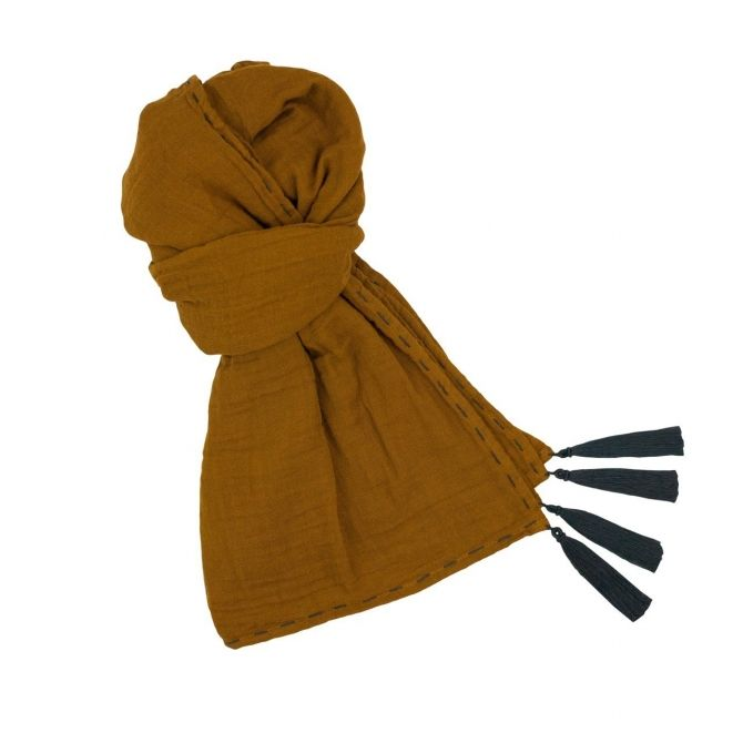 Scarf for mum gold