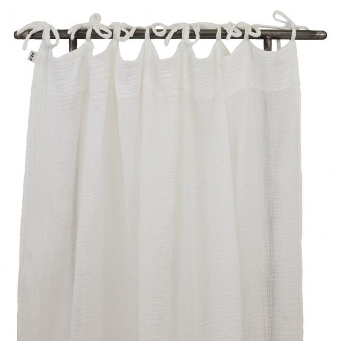 Flat Curtain white