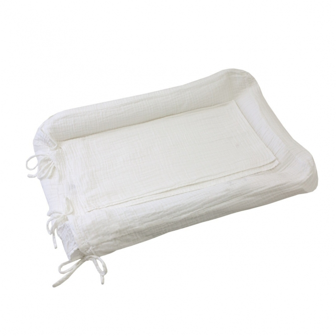 Changing Pad cover square white