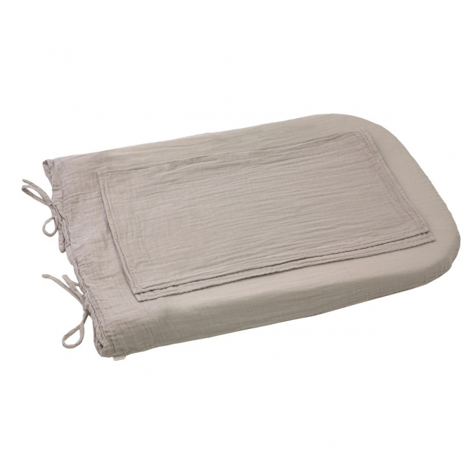 Changing Pad cover round powder