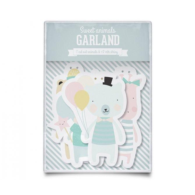 Girlanda Garland Animals zwierzęta