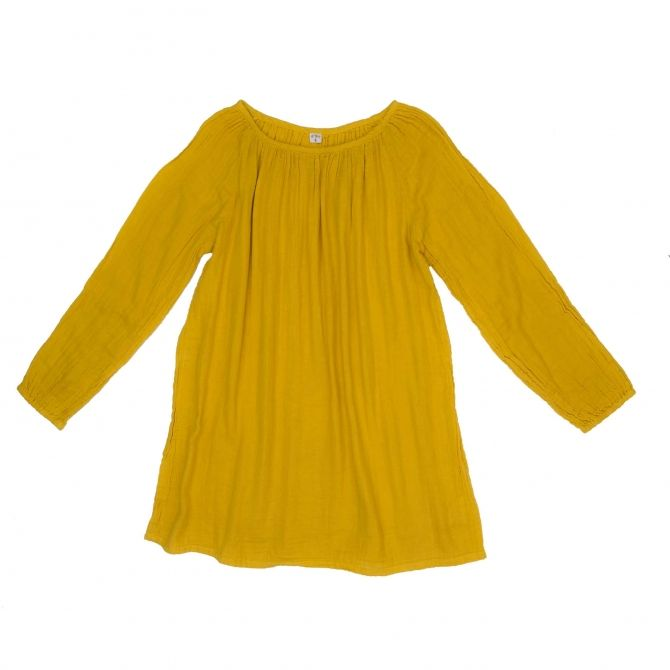 Numero 74 Tunic for mum Nina sunflower yellow