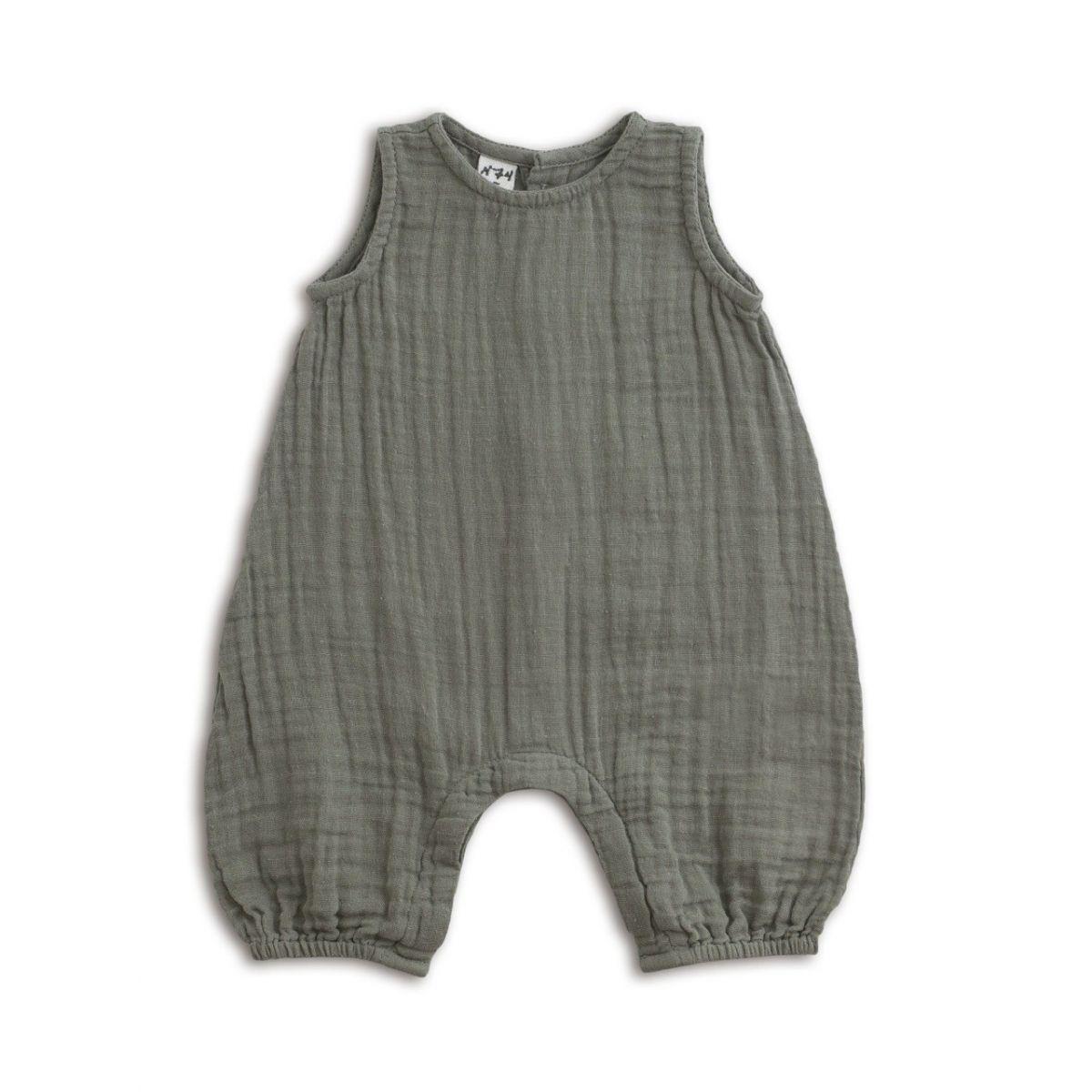 Numero 74 Baby Combi Stef silver grey