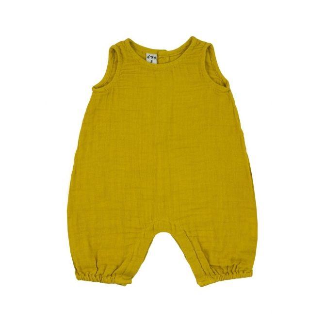 Numero 74 Rompers Stef słoneczny żółty
