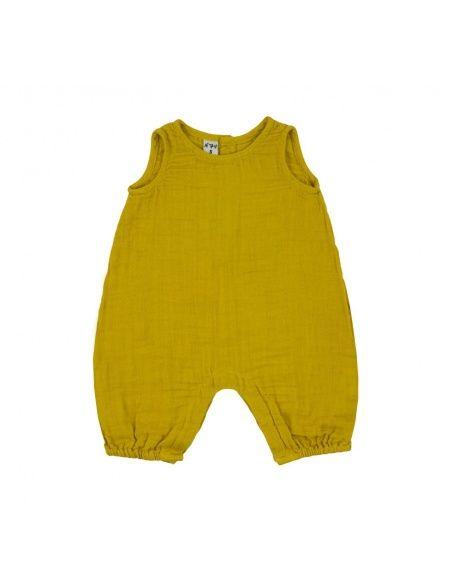 Rompers Stef słoneczny żółty - Numero 74