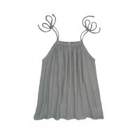 Dress short for mum Mia silver grey