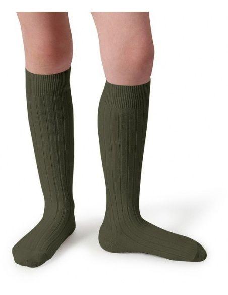 Kneesocks Mon Général khaki - Collégien