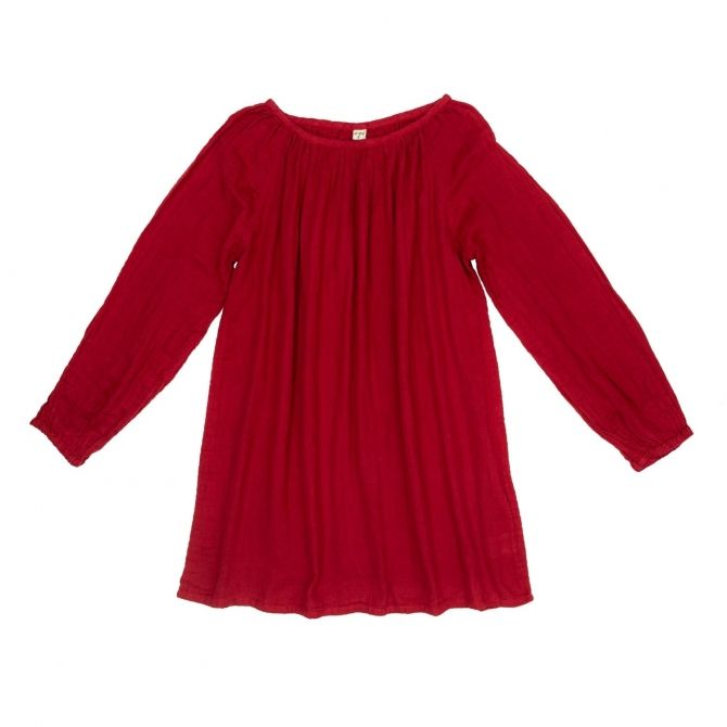Numero 74 Tunic for mum Nina ruby red