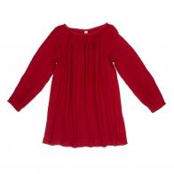 Tunic for mum Nina ruby red