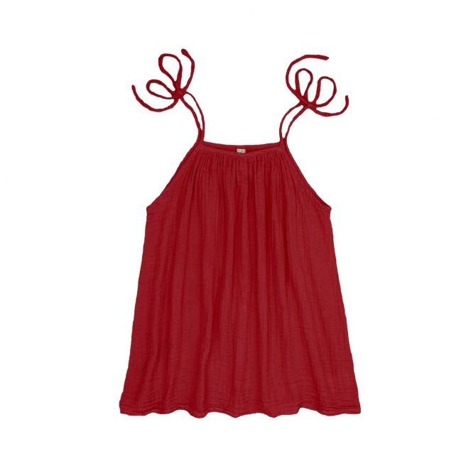Dress short for mum Mia ruby red - Numero 74
