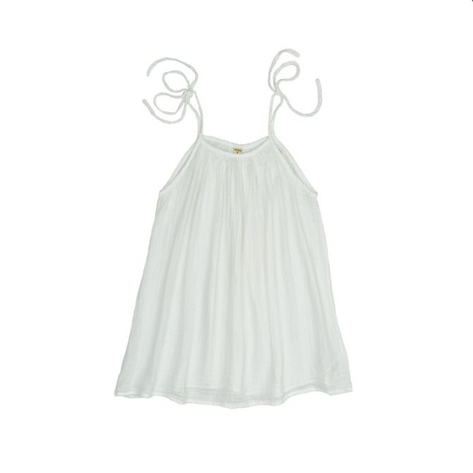 Numero 74 Dress short for mum Mia white