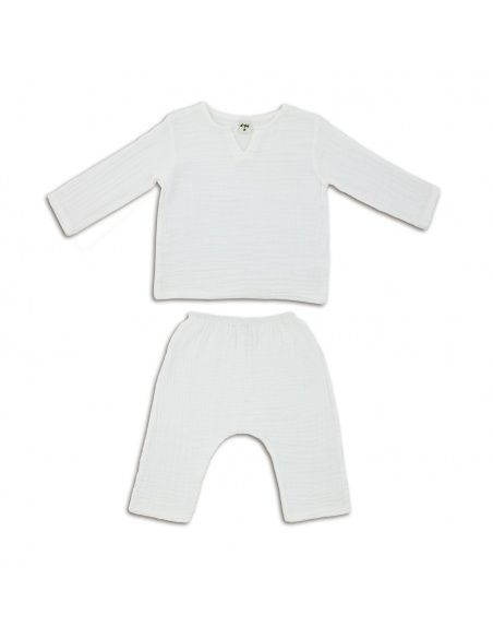 Numero 74 Suit Zac shirt & pants white