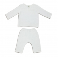 Suit Zac shirt & pants white