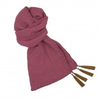 Scarf flashy baobab rose