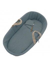 Numero 74 Moses Basket bed linen ice blue