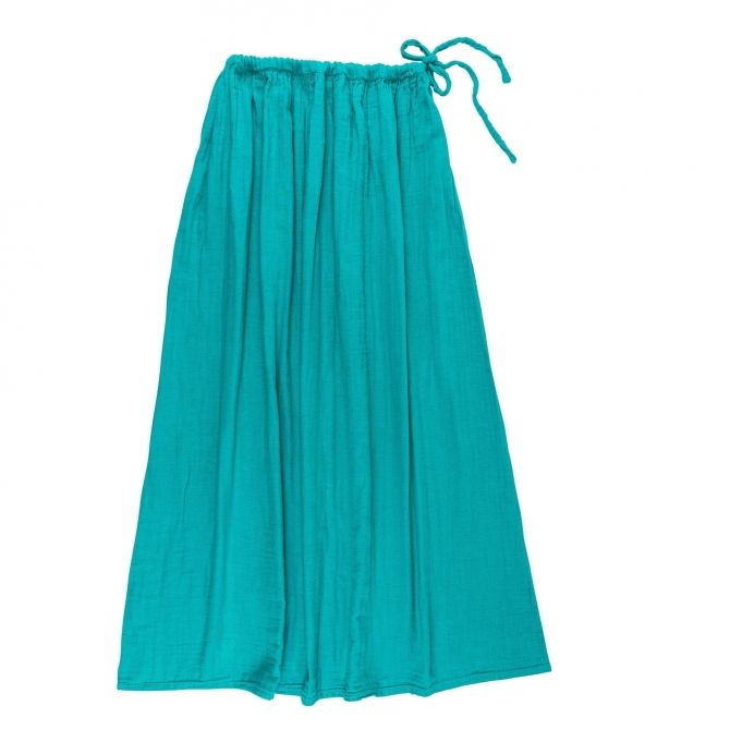 Skirt for mum Ava long aqua blue - Numero 74