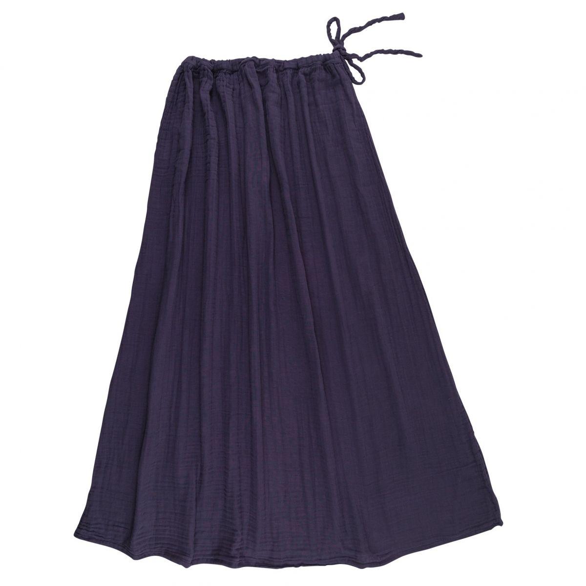 Numero 74 Skirt for mum Ava long sweet aubergine