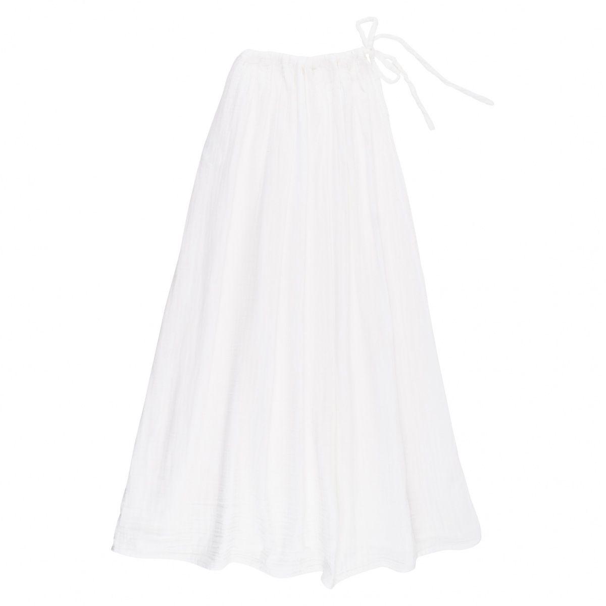 Poważne Numero 74   Spódnica dla mamy Ava długa biała Wymiar L/XL Kolor Biały EH63