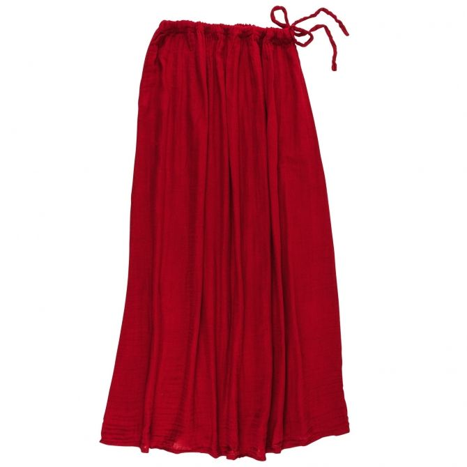Skirt for mum Ava long ruby red - Numero 74