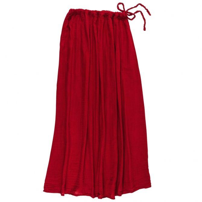 Numero 74 Spódnica dla mamy Ava długa czerwona