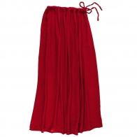 Skirt for mum Ava long ruby red