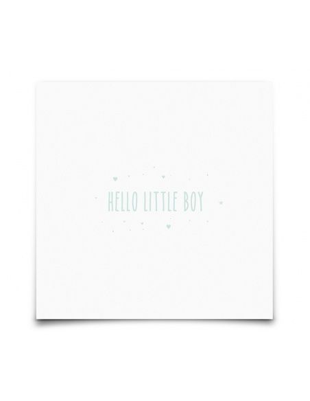 Kartka Hello Little Boy - Eef Lillemor