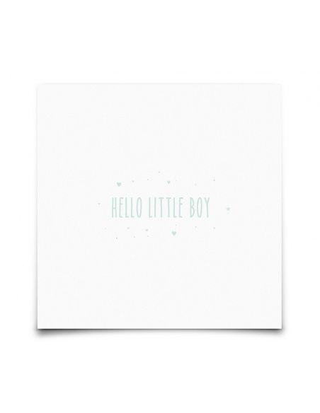 Postcard Hello Little Boy - Eef Lillemor