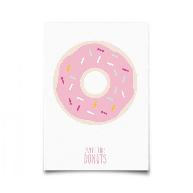 Kartka Sweet Like Donuts - Eef Lillemor