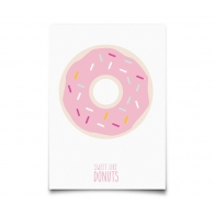 Postcard Sweet Like Donuts