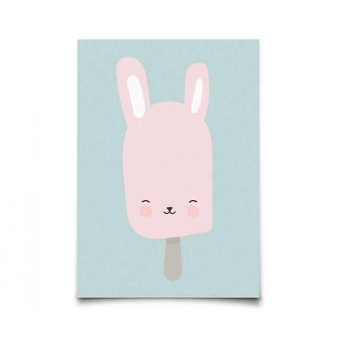 Postcard Bunny Pop - Eef Lillemor