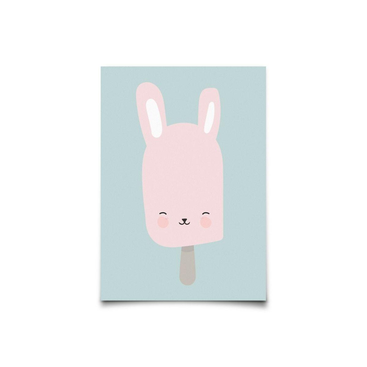 Eef Lillemor Postcard Bunny Pop