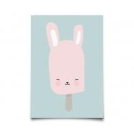 Postcard Bunny Pop
