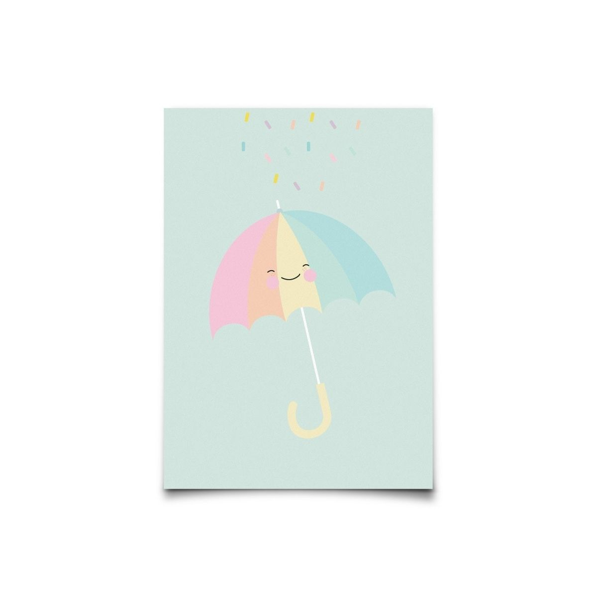 Kartka Pastelette Umbrella - Eef Lillemor