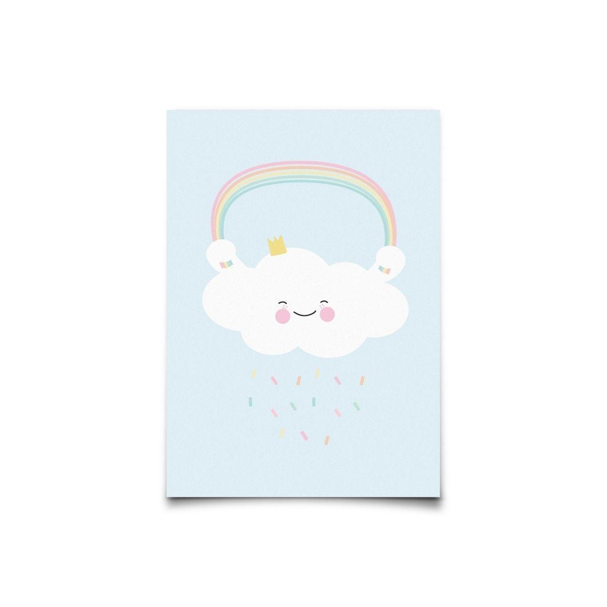 Postcard Pastelette Queen Cloud - Eef Lillemor