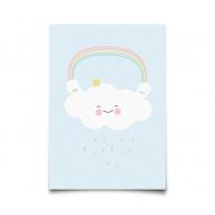Postcard Pastelette Queen Cloud