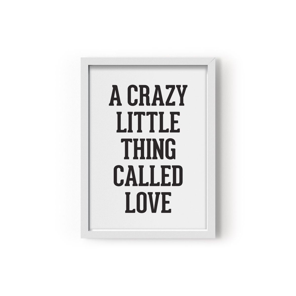 Poster A Crazy Little Thing Called Love - Eef Lillemor