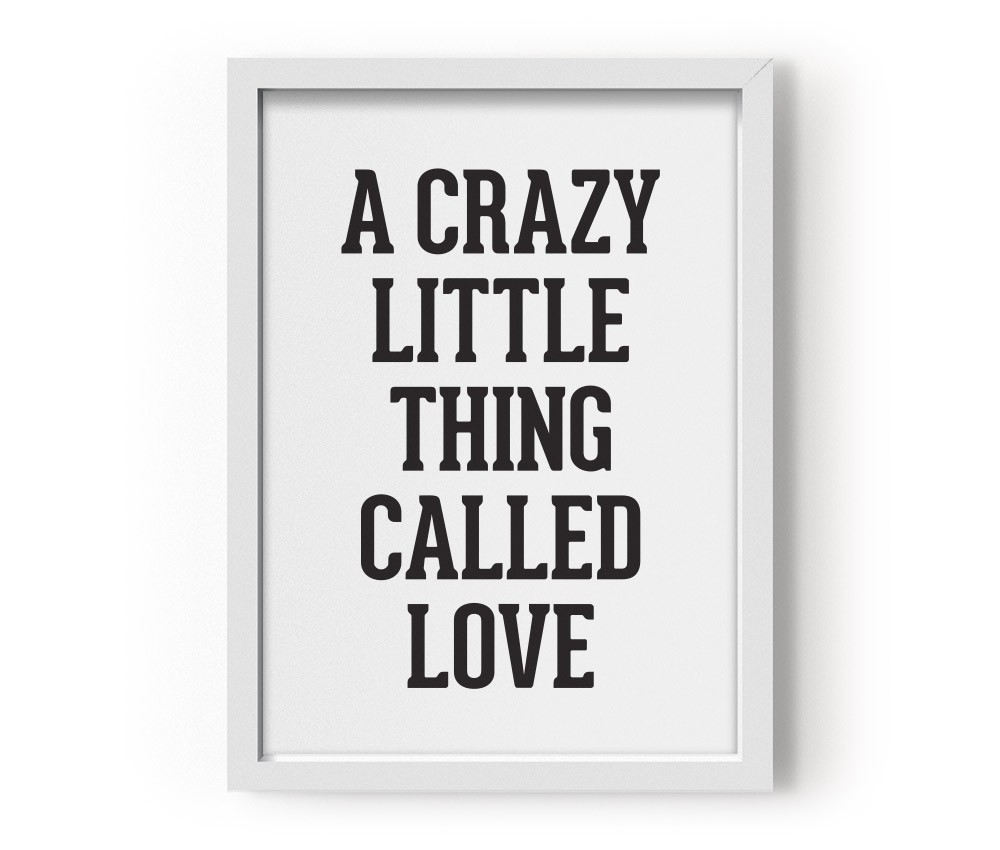 Poster A Crazy Little Thing Called Love