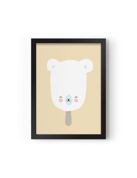 Plakat Polar Pop - Eef Lillemor