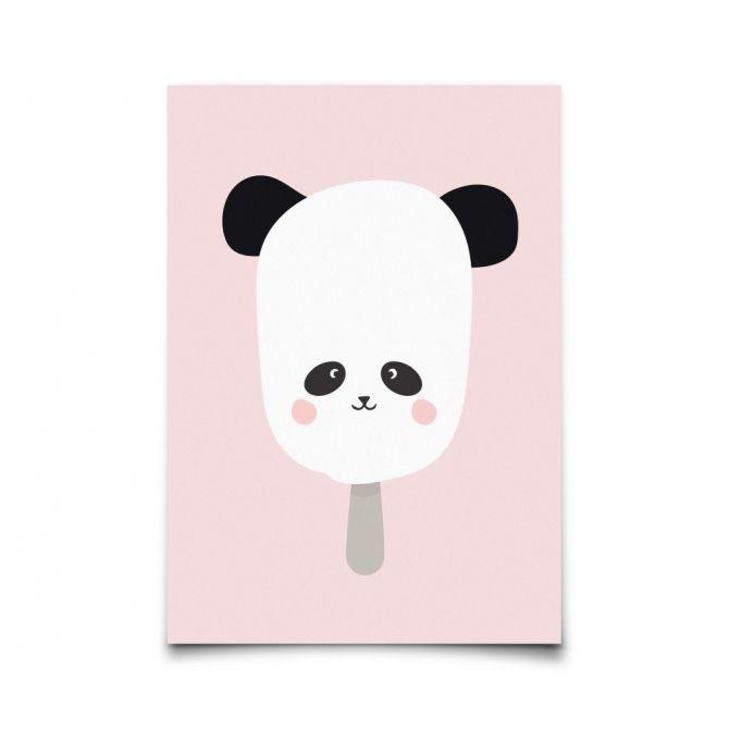 Plakat Panda Pop - Eef Lillemor