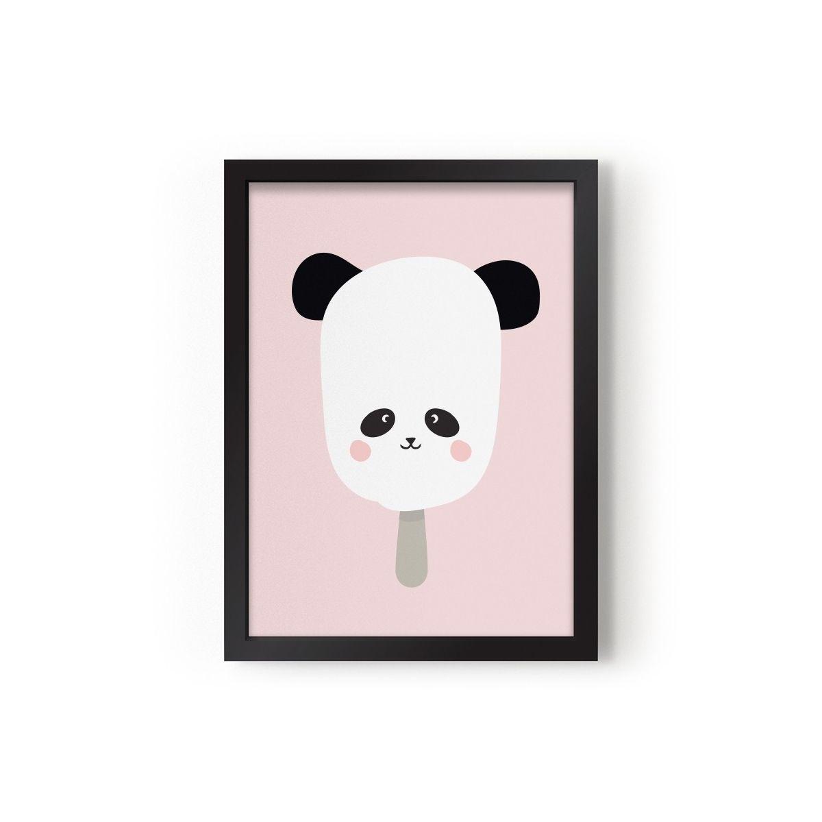 Poster Panda Pop - Eef Lillemor