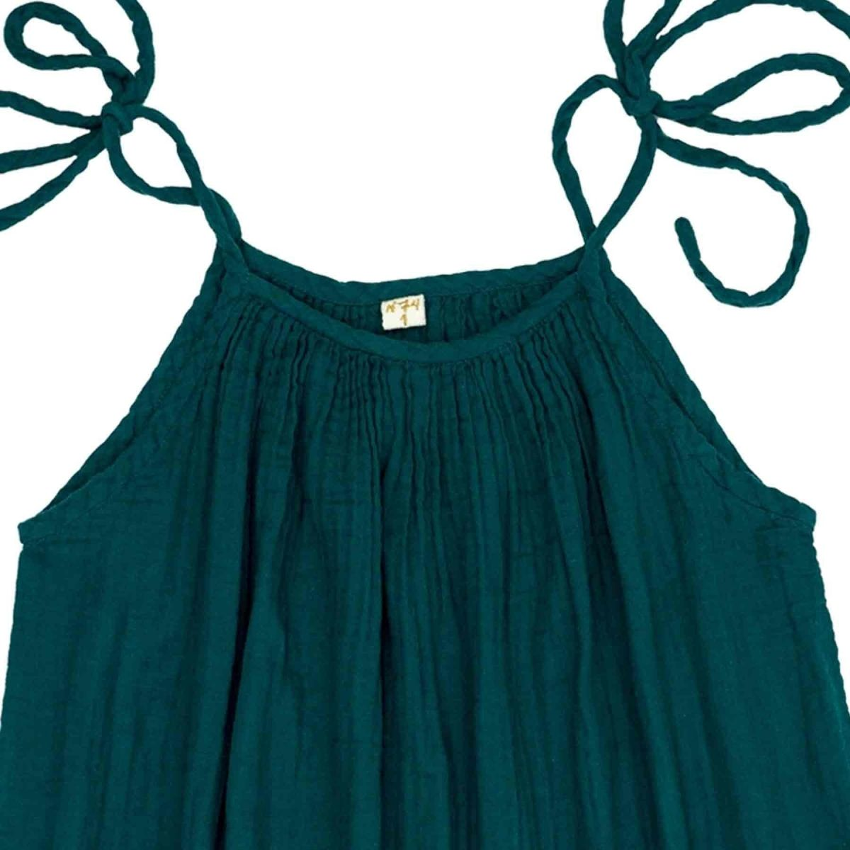 Dress short for mum Mia teal blue - Numero 74